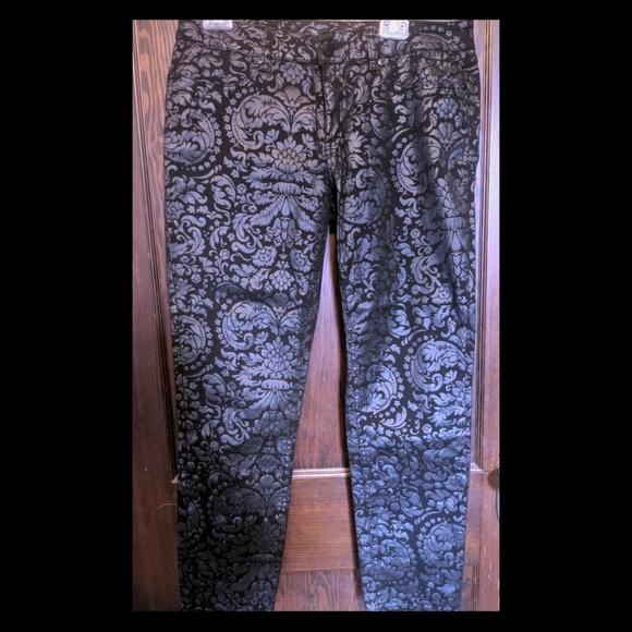 Seven7 Denim - Leather-look patterned jeans (14)